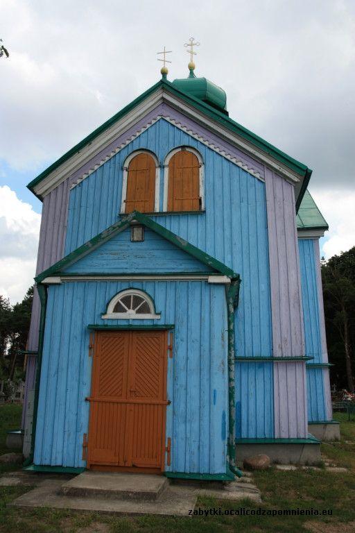 Cerkiew cmentarna św. Jerzego w Rybołach