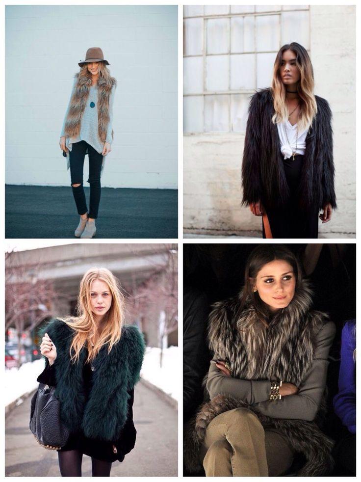 Colete de pele falsa (Faux Fur) | Rebeca Pires