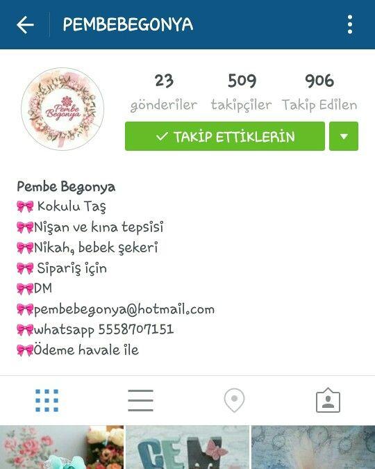 Kokulu taş sipariş için instagram adresimiz