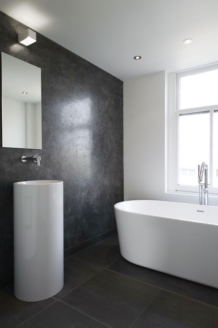 Unique badkamer ideeen inloopdouche met beton cire showroom badkamermeubels ontwerpen 2017 - Badkamer deco ideeen ...