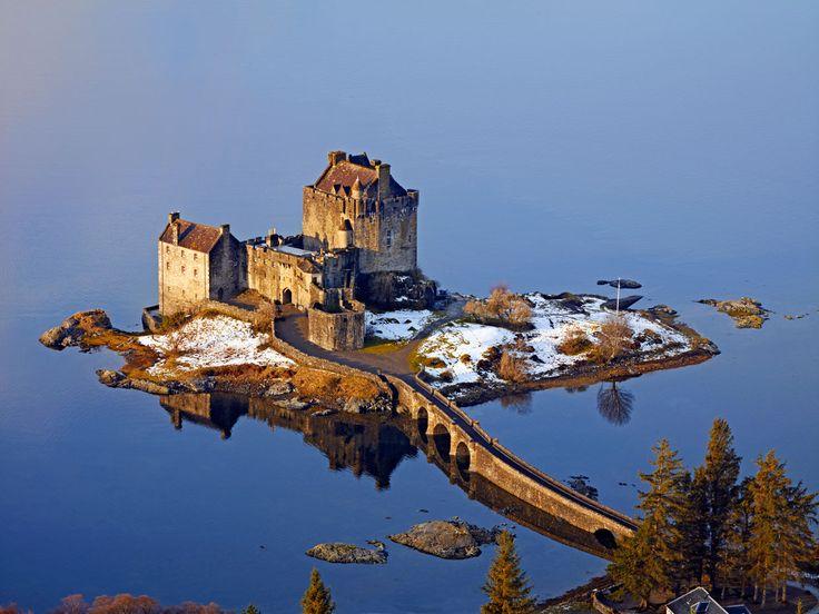 Los mejores castillos de Escocia para mirar, remirar y fotografiar - CASTILLO DE EILEAN DONAN