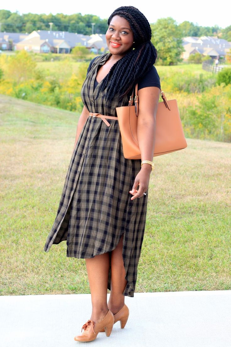 Chioma's Evolution of Style: Fall Plaid with Target Style: Play By the Rules or Break the Rules!