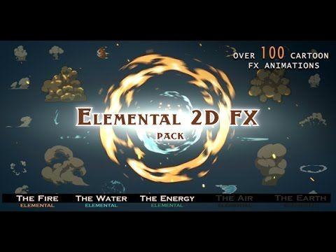Elemental 2D FX pack