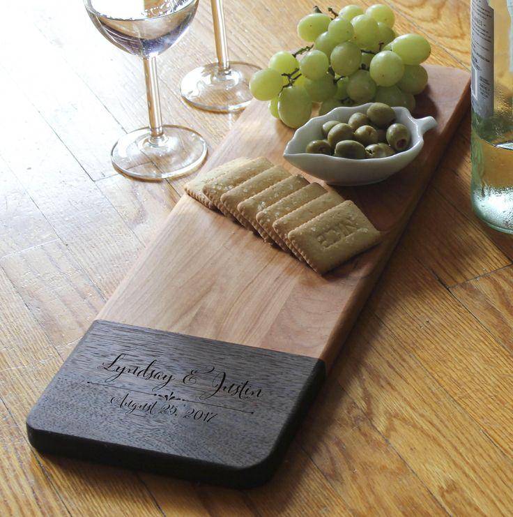 Personalized cheese Board, customized cheese board, custom cutting board, wedding gift, housewarming gifts, wedding gifts, Christmas gifts by JMlabonneimpression on Etsy https://www.etsy.com/uk/listing/536868210/personalized-cheese-board-customized