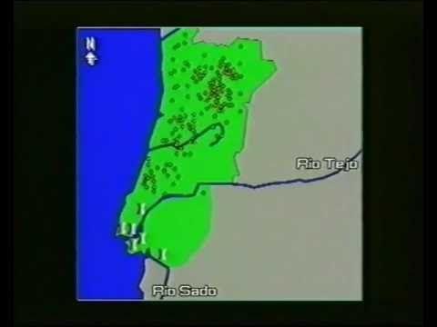 A Península Ibérica - Localização e Ambiente Natural (5.º ano HGP) A Península Ibérica localiza-se na Europa, entre o Mar Mediterrâneo a Sul e o Oceano Atlân...