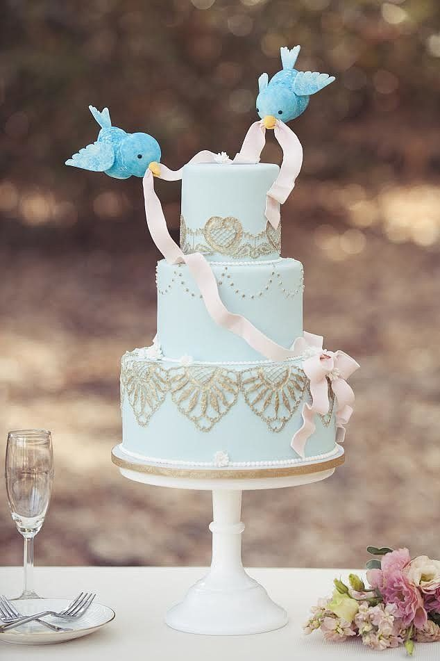 Wedding Cakes That Channel Your Inner Disney Princess