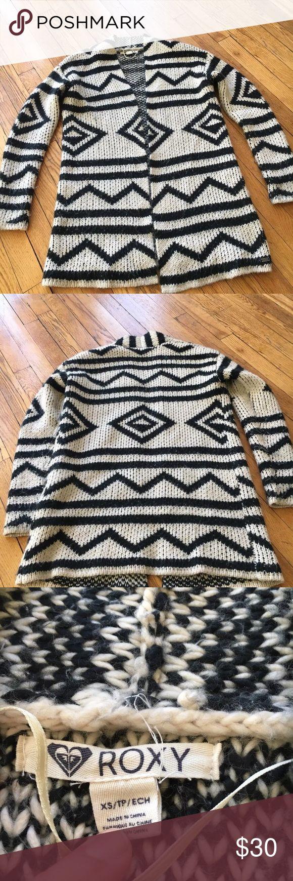 Cardigan/wrap Roxy cardigan geometric size xs Roxy Sweaters Cardigans