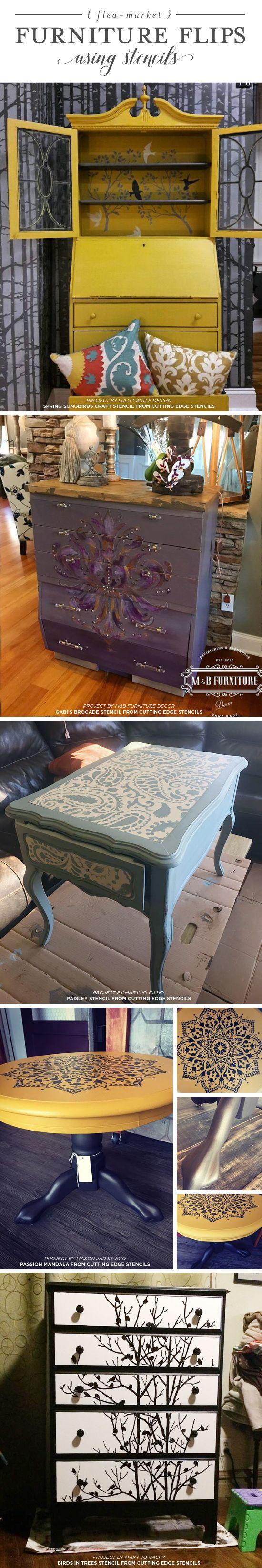 cutting edge furniture. wonderful cutting cutting edge stencils shares diy stenciled furniture ideas using trendy  stencil designs http with furniture o