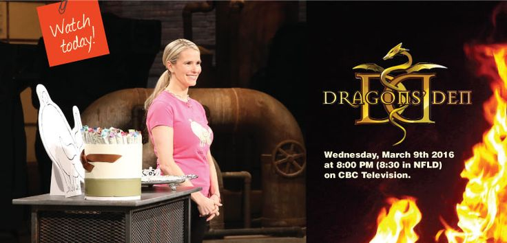 Watch the Dragon's Den on CBC and see the Chocolate Princess Shelley Wallace give her pitch to slay the Dragons!