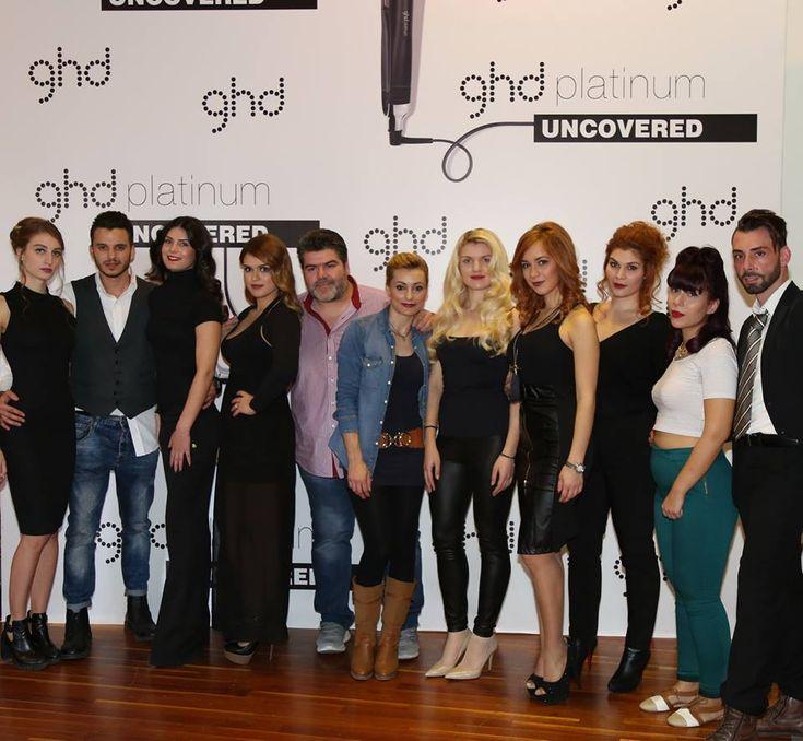 ghd Platinum Uncovered Greece 16/11/2015 στην Τεχνόπολη στο Γκάζι.