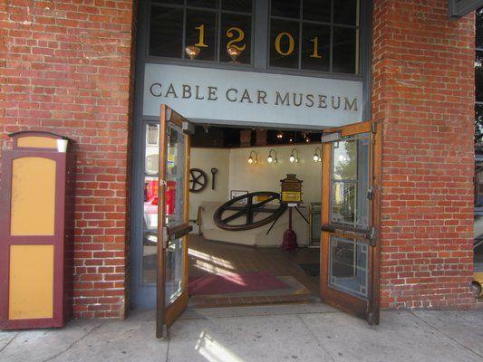 ケーブルカー博物館