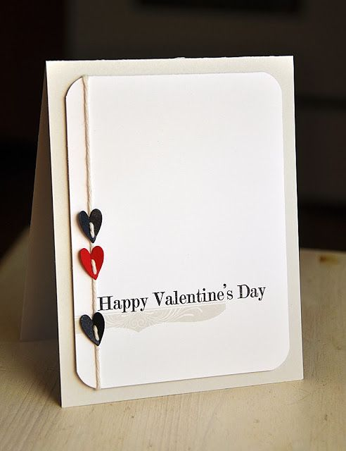 Happy Valentine's Day Card by Maile Belles for Papertrey Ink (December 2013)