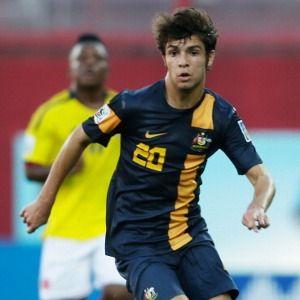 Daniel De Silva, Australian striker who plays for Perth Glory. He's 16 years old. He's in the Australian National U-20 Football Team.