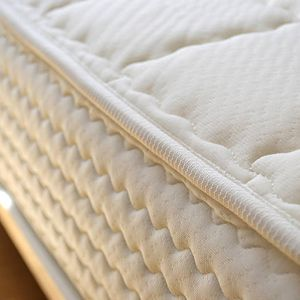The memotouch is an incredibly comfortable mattress using quilted memorex padding for that 'sink-in' feeling. Buy online from Natural Bed Company.
