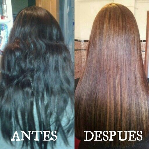 Antes Y Despu 233 S Cambio De Color En Cabello Color Y