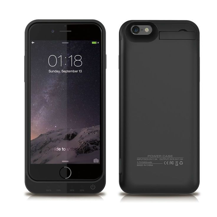 5800mAh Power Case For iPhone6 6s Power Charge Case External Backup Battery Power Bank Cover For iPhone 5S 6 6s 7 Charger Cases – Shop Now! – WorldOfTablet.com