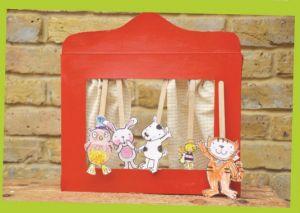 El teatro de marionetas de La gata Lupe | La gata Lupe