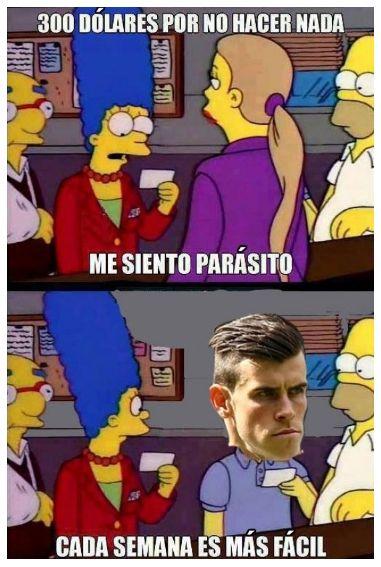Descripción de lo que hace Bale en el Madrid