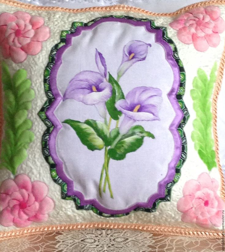 Купить подушка декоративная - бежевый, подушка декоративная, подушечка на свадьбу, текстиль для дома, трапунто