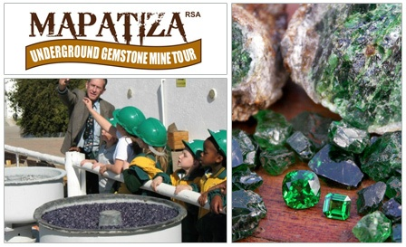 Fun family experience - underground GEMSTONE mine tour and MORE at Mapatiza, Midrand! R79 for 2 or R149 for 4 people http://www.cityslicker.co.za/team.php?id=3989&_sid=11