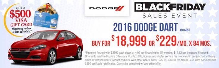 Don't Miss The Russ Darrow Chrysler Dodge Jeep RAM Black Friday Sales Event!