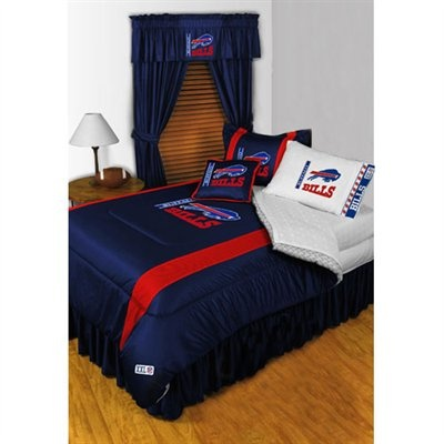 buffalo bills 7 piece bedroom set nfl home decorations