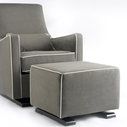 The contemporary glider in contemporary grey. can use beyond the nursery