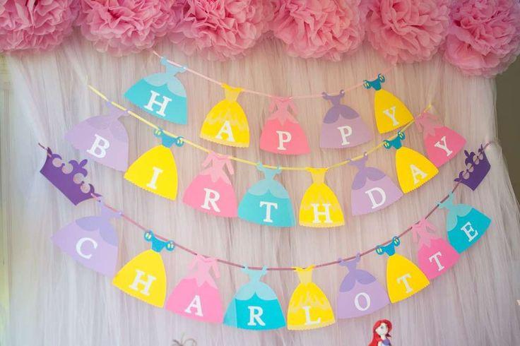 Disney Princess Birthday Party Ideas | Photo 5 of 33 | Catch My Party