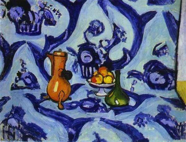 Анри Матисс - Голубая скатерть, 1909