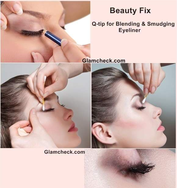 27 best eyeliner images on pinterest make up beauty makeup and beauty fix q tip for blending smudging eyeliner ccuart Image collections
