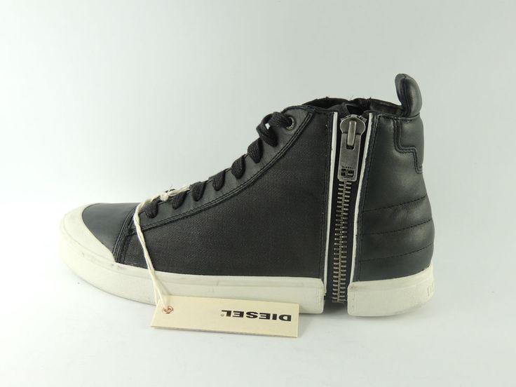 Diesel S-Nentish Herren Sneaker Schuhe Boots Chucks Leder Shoe Gr. 43 UK 9 Zip   eBay
