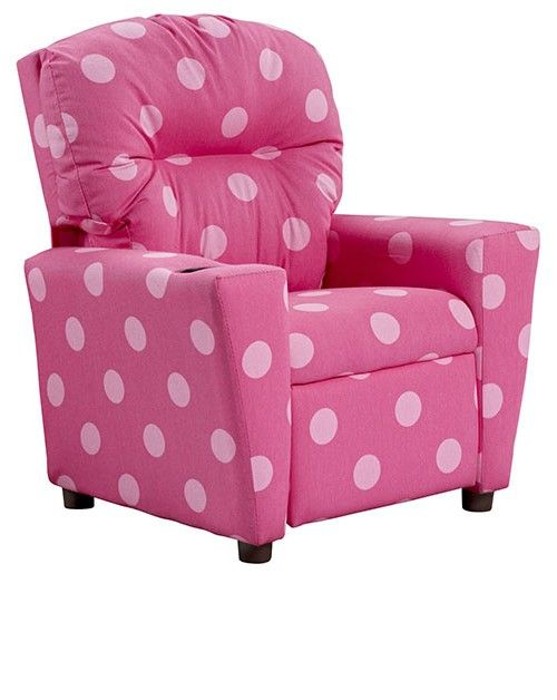 Toddler recliner pink