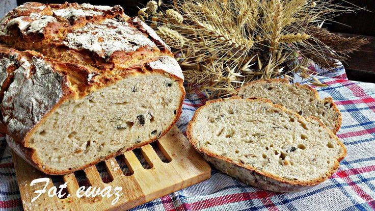 Ewa w kuchni: Chrupiący chleb z pestkami dyni i słonecznikiem