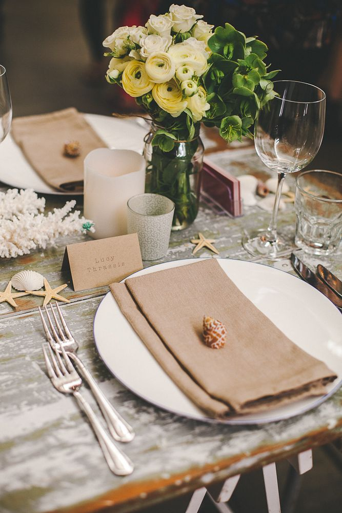 One Fine Day Table Setting