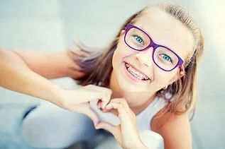 Braces for Teens, teenagers and children - Traditional braces have come a long way over the years, becoming sleeker, smaller and more comfortable. And that's something to smile about!     Dental braces can correct crooked and crowded teeth, a misaligned bite and jaw problems.Braces also eliminate problems you may have with eating, speaking properly or with keeping your teeth clean.