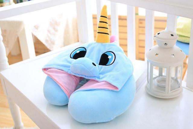 Unicorn Travel Neck Pillow or Cushion