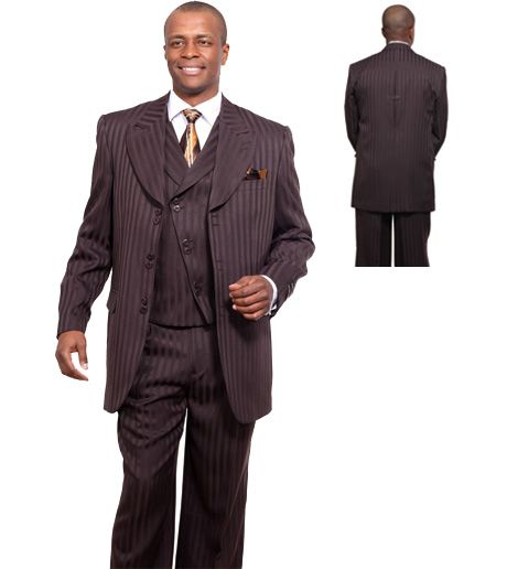 Men originally started to call the fashion mens suits they wear on Sundays as Church Suits because most of suits that many people wear to church are just not made for wearing in an office environment.