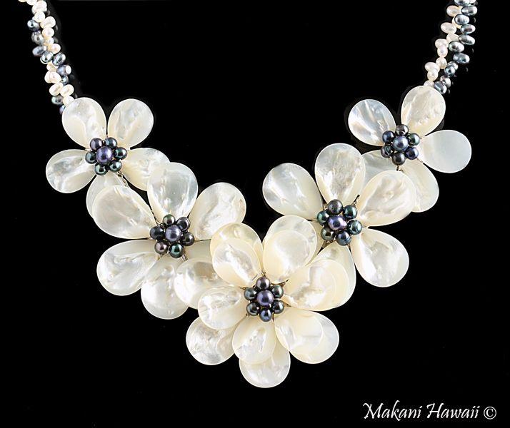 Necklace Accessories Hawaiian Jewelry Hand Made Fresh