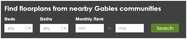 With one, two and three bedroom options available, Gables Cherry Creek has the perfect floor plan for everyone! Do a floor plan search on the website to see similar layouts. ww.gables.com/cherrycreek #GablesResidential  #GablesDenver #YourHome