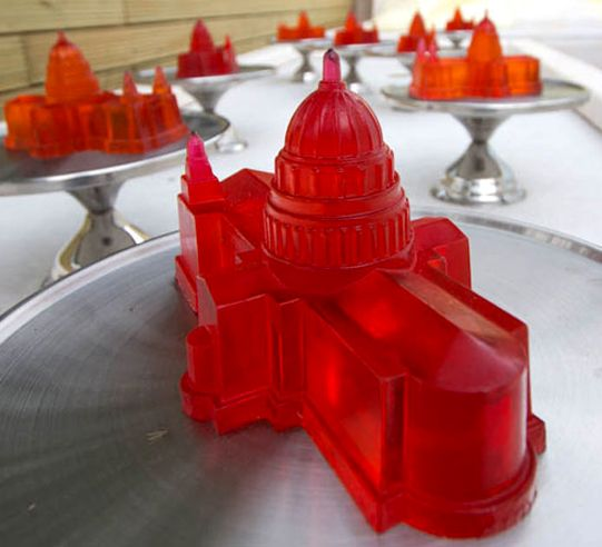 Fancy - St. Pauls Cathedral Jelly Mold