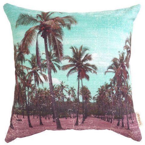 Palm Rows Cushion  LTCO // Byron Bay