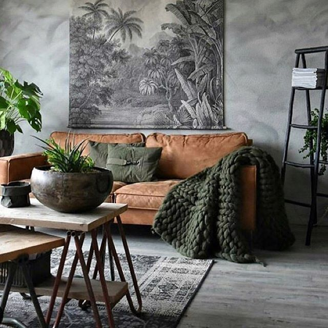 """180 Likes, 5 Comments - @thesupercool on Instagram: """"The colours... the warmth, the textures! We love! Living room inspo by 📷 @yvonne_kwakkel…"""""""