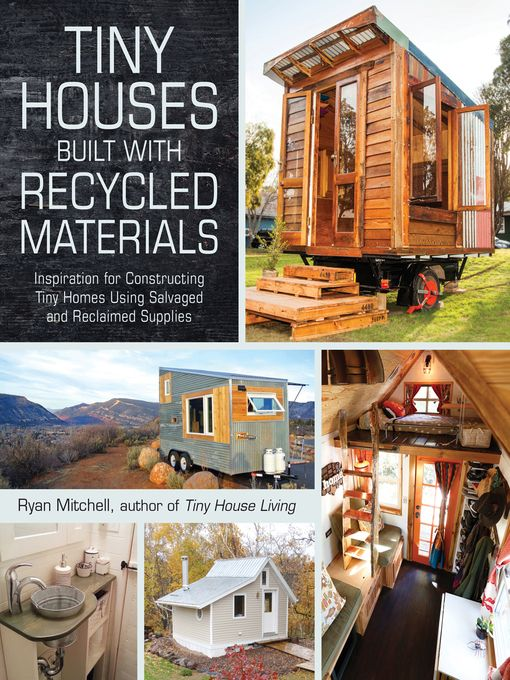 The tiny house movement is a big trend with a very small footprint. Extremely small house, with less than 1,000 square feet of space, are environmentally friendly, less expensive than typical homes, and often movable. Tiny Houses Built with Recycled Materials is full of ideas for using reclaimed materials and upcycled goods to construct a tiny house that is good for the earth and truly unique.