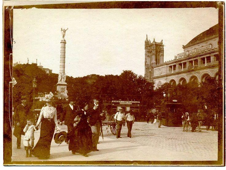 Яндекс.Фотки Париж. Театр Сары Бернар Альбом путешествия по Европе в 1899,
