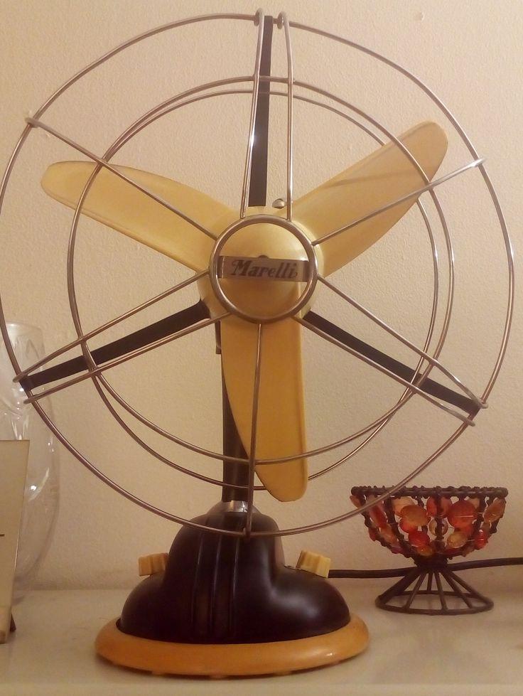 Ventilatore Marelli anni 60' riportato a nuova vita