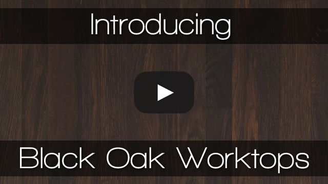Black oak worktops from Worktop Express are superb quality, and available for next-day delivery via our nationwide 2Man service!  Black oak worktops are almost black in colour, and are made from high-quality European oak that undergoes a specialist treatment process to darken the timber throughout. Watch our YouTube video to learn more: https://www.youtube.com/watch?v=XHAq7bzdXLQ