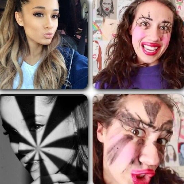 Ariana Grande tutorial.......WARNING BY MIRANDA SINGS Don't try at home