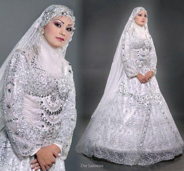 Muslim bridal gowns