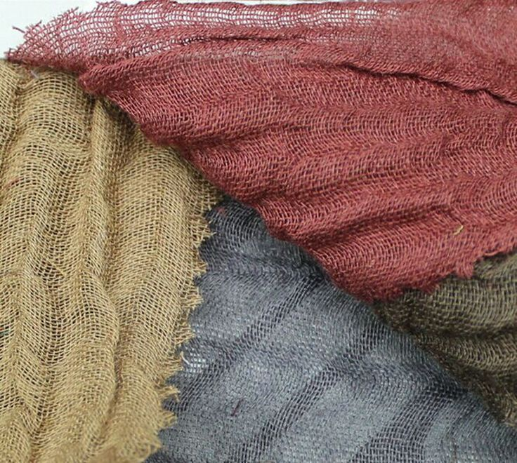 M-341 Rimie Gauze Fabric 100% linen light gauze crinkle fabric 135 cm 53'' width 90 gsm sewing fabric 20 meters small  wholesale