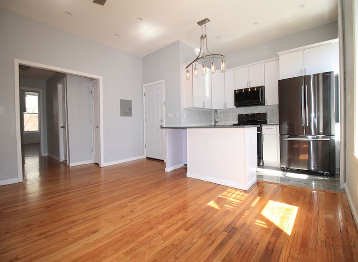 NO FEE & FREE WIFI  NEW FOR RENT | 528 JEFFERSON AVE., 2 | 1BR/1BA $2,150/MO.   OPEN HOUSE SUN., APRIL 2ND 12:30PM - 2PM   PRE-REGISTER AT GOSPACIO.COM USING ID '52491'.   This newly renovated 1BR/1BA floor through apartment is located on a bucolic block in beautiful Bedford-Stuyvesant, Brooklyn. Configured for maximum comfort, the bedroom can accommodate a queen-sized bed. A wide hallway leads past double hall closet, and provides ample space for an efficient office/workspace. The alcove…